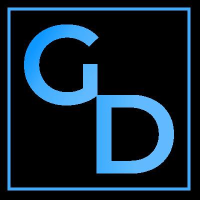 geekdimm designs home slider logo