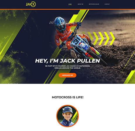 Jack Pullen website portfolio